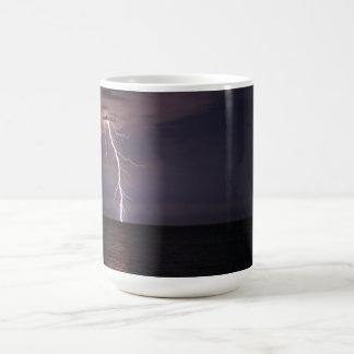 Lightning Strike Basic White Mug