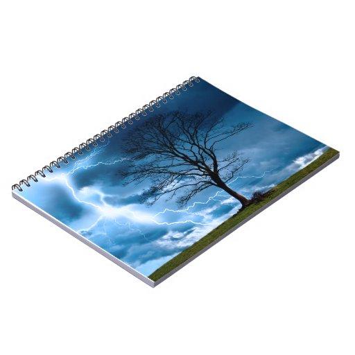 Lightning Strike Note Books