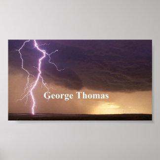 Lightning Strike Print