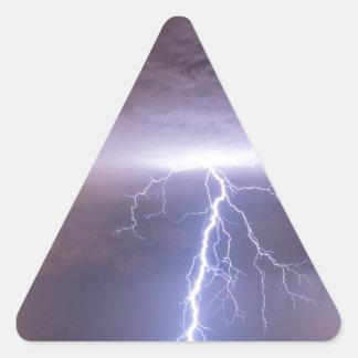 Lightning Strikes Following the Rain Stickers