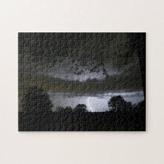 Lightning Strikes Jigsaw Puzzle