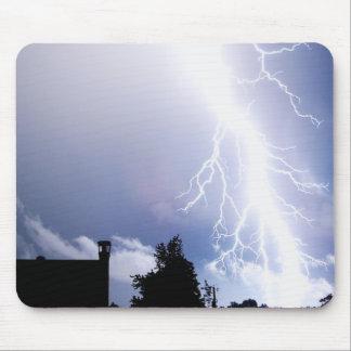Lightning Strikes Mouse Mat