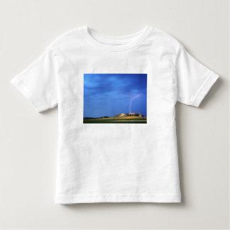Lightning strikes the Wildcat Hills near Toddler T-Shirt