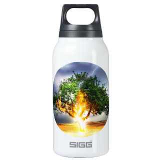 Lightning Striking Tree During Storm 0.3 Litre Insulated SIGG Thermos Water Bottle