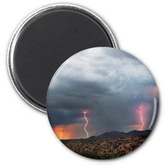 Lightning triple strike. magnets