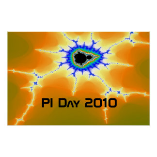 lightningroach, PI Day 2010 Poster