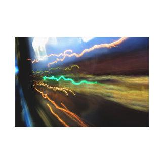 lights 3 canvas print