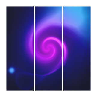Lights Abstract art Gallery Wrap Canvas