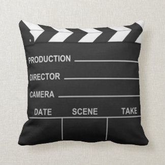 Lights Camera Action - Pillow