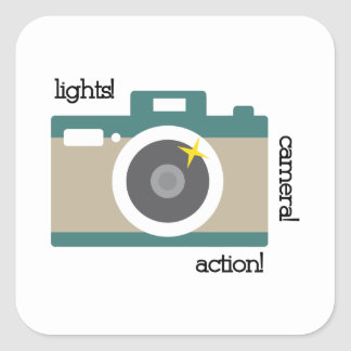 Lights Camera Action Stickers