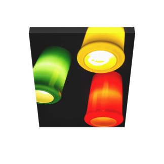 Lights Stretched Canvas Prints
