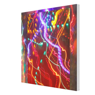 lights canvas prints