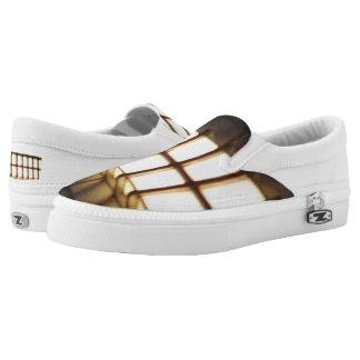 Lights Custom Zipz Slip On Shoes,  Men & Women