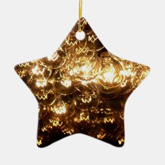 Lights Ceramic Star Decoration