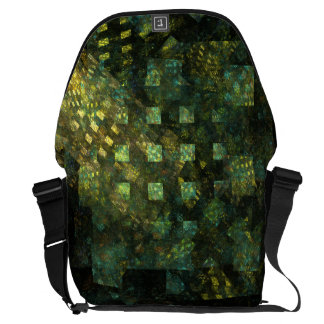 Lights in the City Abstract Art Large Bag Messenger Bag