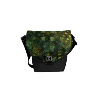 Lights in the City Abstract Art Mini Bag Courier Bag