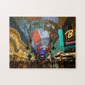 Lights Of Fremont Street Jigsaw Puzzle