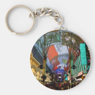 Lights Of Fremont Street Key Ring
