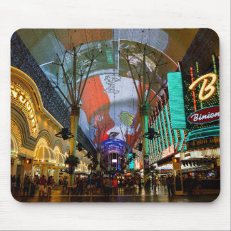 Lights Of Fremont Street Mouse Pad