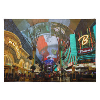 Lights Of Fremont Street Placemat