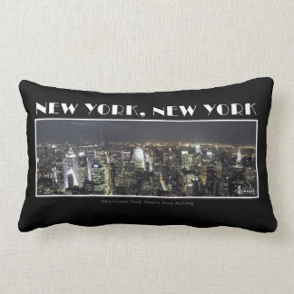 Lights of New York City Pillow