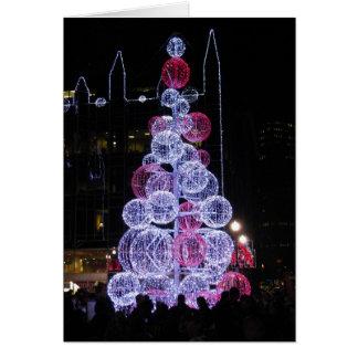 LIGHTS OF THE SEASON CHRISTMAS CARD