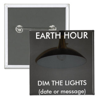 Lights On Off - Dim the Lights for Earth Hour Button