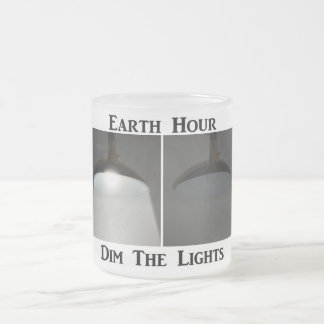 Lights On / Off - Dim the Lights for Earth Hour Coffee Mugs
