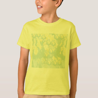 Lightshade Yellow Green Floral Template T-Shirt