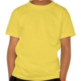 Lightshade Yellow Green Floral Template Tee Shirts