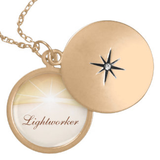 Lightworker Gold Plated Necklace