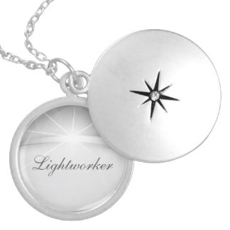 Lightworker Silver Plated Necklace