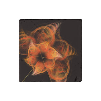 Lightworks Abstract Art Stone Magnet