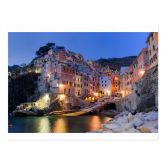 Liguria Italy Postcard
