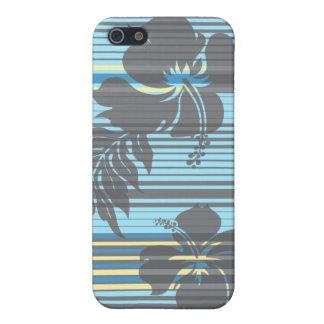 Lihue Hibiscus Stripe iPhone 5c Cases