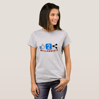 Like 2 Share Women's Millennial T-shirt