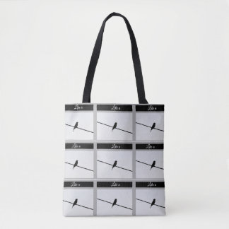 Like a Bird on A Wire - Leonard Cohen Tote Bag