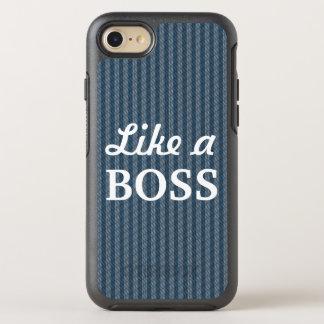 Like a Boss Blue OtterBox Symmetry iPhone 8/7 Case