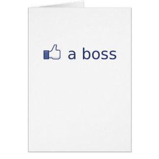 Like a Boss Card