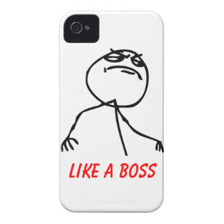 Like a Boss iPhone 4 Case