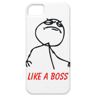 Like a Boss Case For The iPhone 5