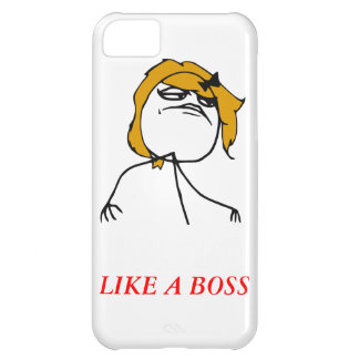 Like a boss girl iPhone 5 Meme Case iPhone 5C Case