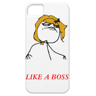 Like a boss girl iPhone 5 Meme Case iPhone 5 Case