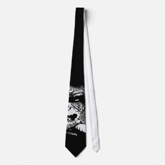 Like a Boss Gorilla Smoking Dark Tie