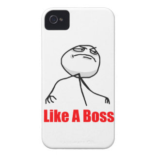 Like a boss iPhone 4 Meme case iPhone 4 Cover