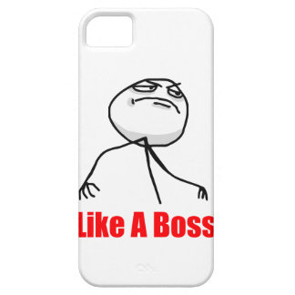 Like a boss iPhone 5 Meme case Case For The iPhone 5
