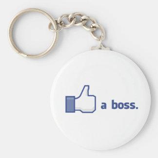 Like a Boss Keychain