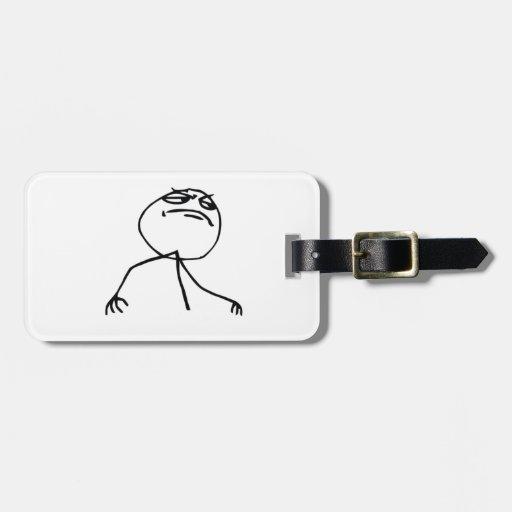 Like a boss luggage tag
