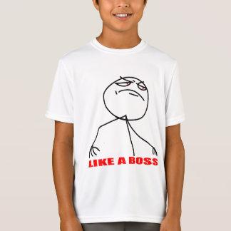 Like a boss meme face T-Shirt