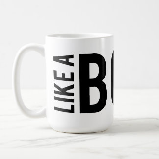 LIKE a BOSS Basic White Mug